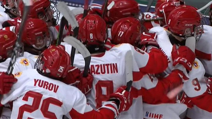 Сборная России по хоккею уступила Канаде и завоевала серебро ЮЧМ-2021