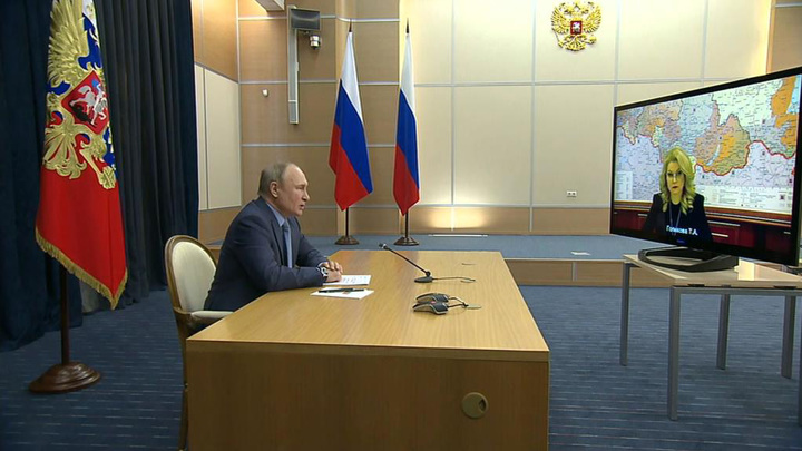 Путин сравнил отечественные вакцины от ковида с автоматом Калашникова