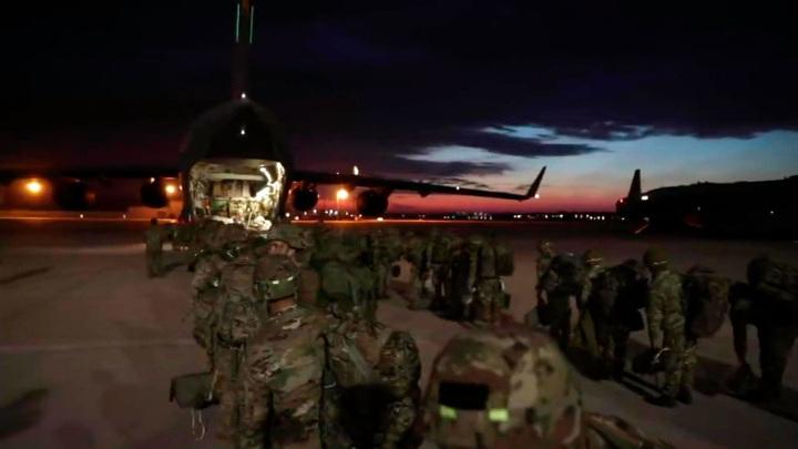 Американские десантники покалечились при высадке в Эстонии
