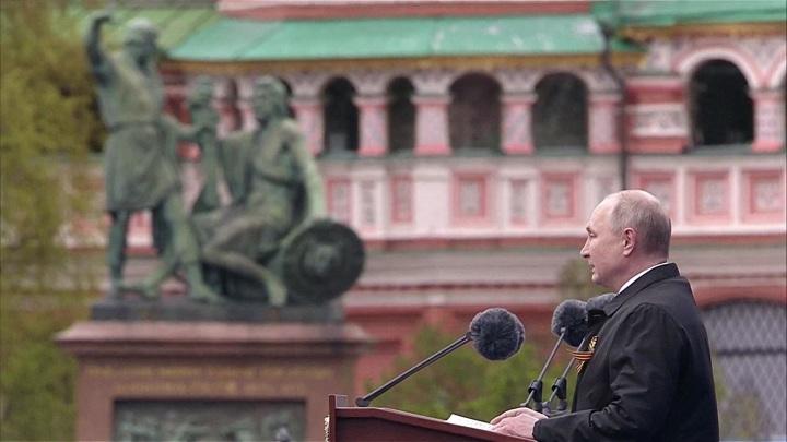 Путин: мы всегда будем помнить подвиг советского народа