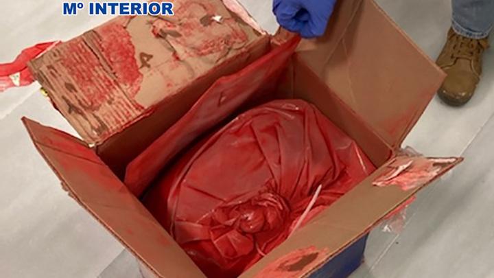 Испанские наркоторговцы наловчились растворять кокаин в краске