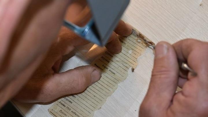 Ставропольские криминалисты восстановили фронтовое письмо и личность солдата по медальону