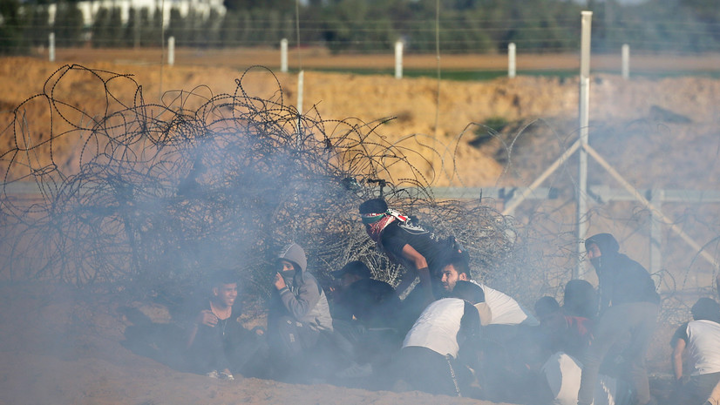 Девять палестинцев погибли в результате авиаударов Израиля