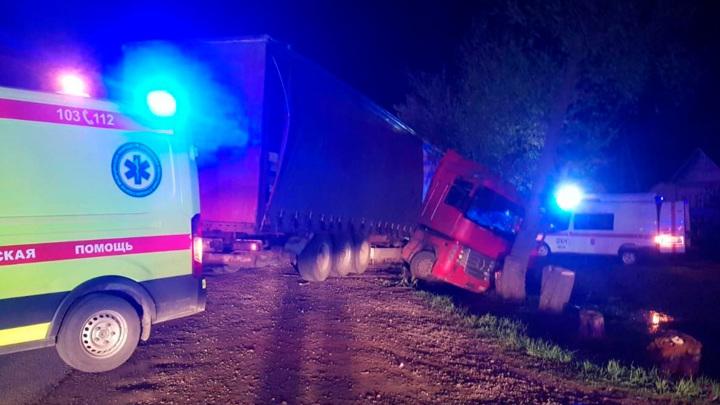 Крупное ДТП под Пензой: 1 погибший, 10 пострадавших