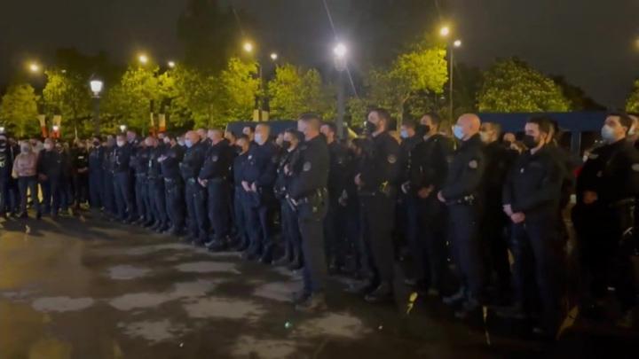 Во Франции новая серия нападений на полицейских