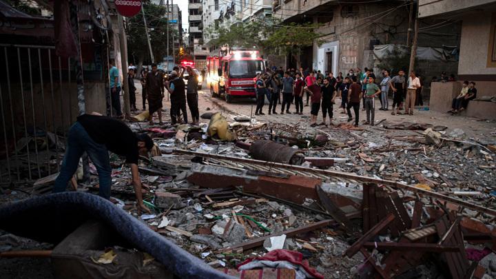 Израиль проводит акцию возмездия в Секторе Газа