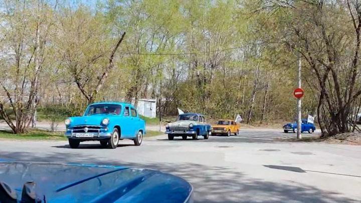 В Перми состоялся пробег ретроавтомобилей