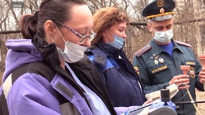 На фоне лесных пожаров в Тюменской области отмечено загрязнение воздуха