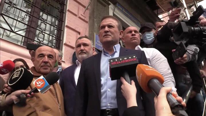 Медведев назвал дело против Медведчука и Козака охотой на ведьм