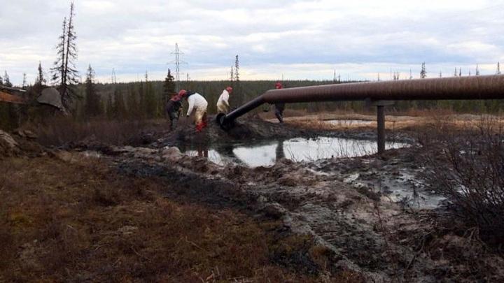 В Ненецком округе возбуждено уголовное дело из-за разлива на месторождении