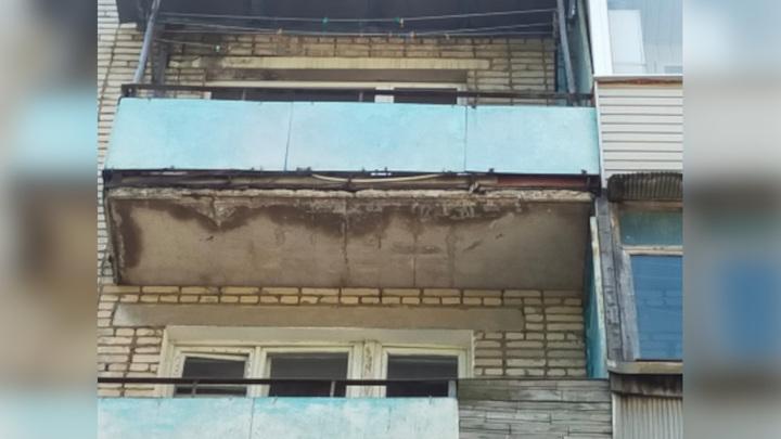Под Тулой ребенку на голову упали осколки бетонной плиты