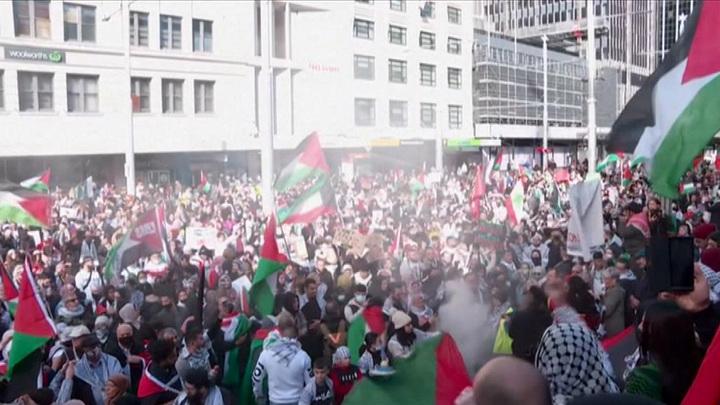 Вода, газ, пули: пропалестинские акции солидарности в Европе