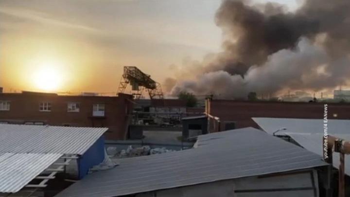 Пожар в Екатеринбурге смогли локализовать