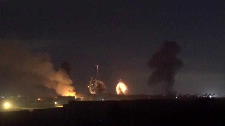 ВВС Израиля минувшей ночью нанесли удары по югу сектора Газа