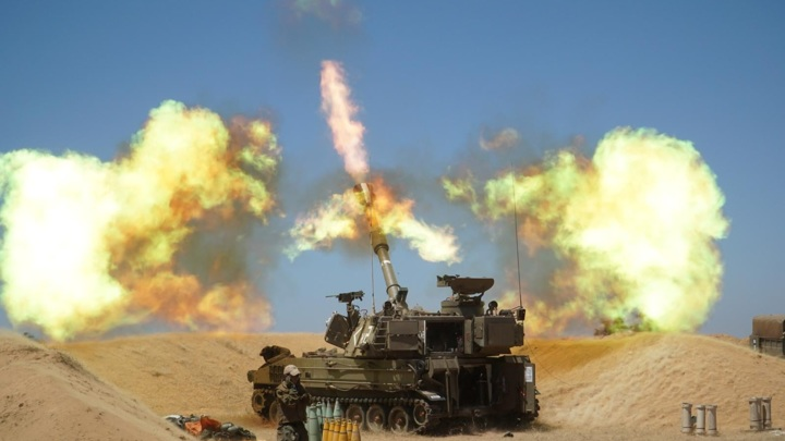 Израильская артиллерия бомбит границу Ливана в ответ на обстрел