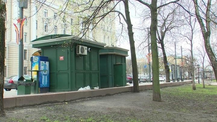В Воронеже снесут 12 незаконно установленных киосков