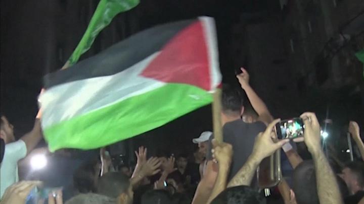 ХАМАС празднует победу