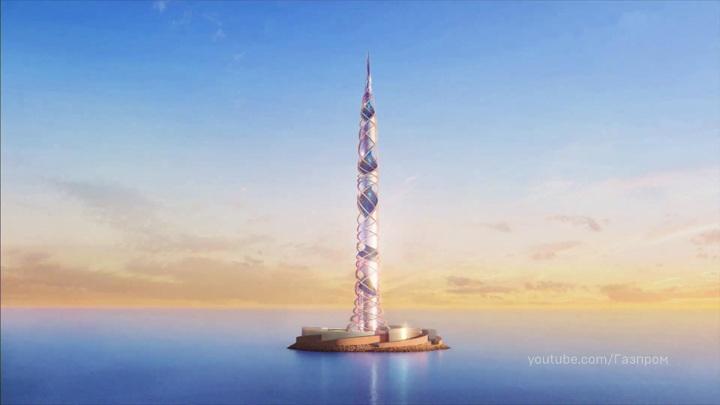 """Компания """"Газпром"""" представила проект небоскреба """"Лахта Центр 2"""""""