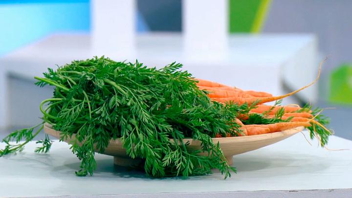 """Кадр из программы """"О самом главном"""". Как есть морковь для максимальной пользы: совет диетолога"""