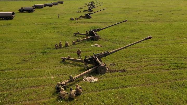 ВСУ вывели пушки и беспилотники на границу с Крымом