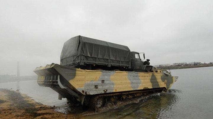 Военные учения Росгвардии проходят на территории Марий Эл