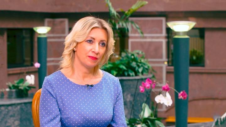 """""""Вы не на """"Эхе"""": Захарова осадила Венедиктова, обсуждая СМИ-иноагентов"""