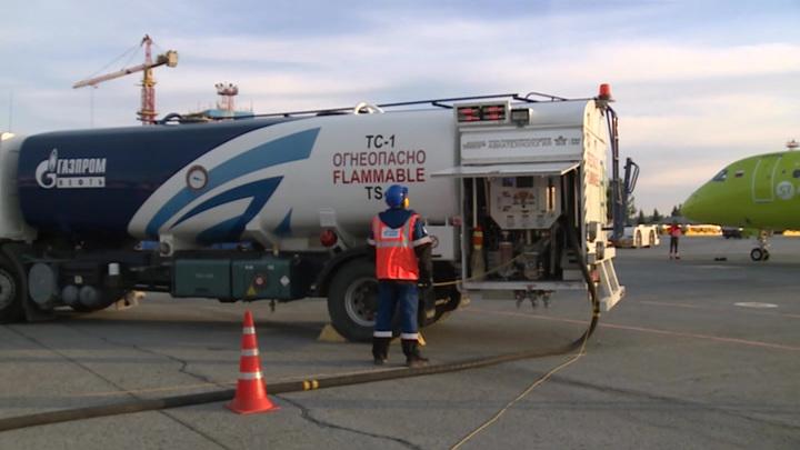 """Smart Fuel: """"Газпром нефть"""" запустила систему быстрой оплаты заправки самолетов"""