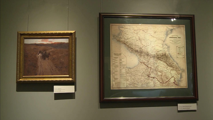 Ольга Любимова открыла новую экспозицию в кавказском музее Льва Толстого