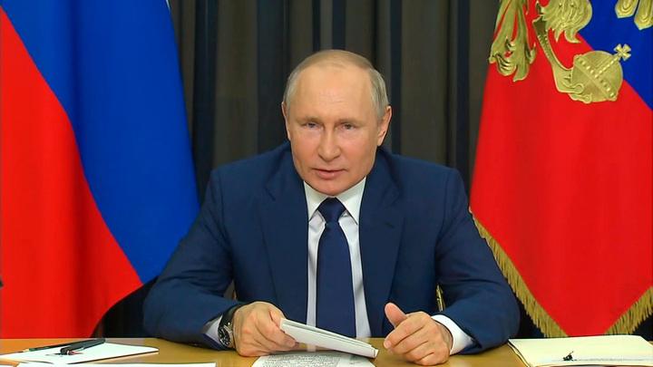 Путин: регионы должны расширять программы поддержки многодетных семей