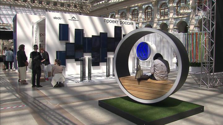 Международная выставка архитектуры и дизайна открылась в Москве