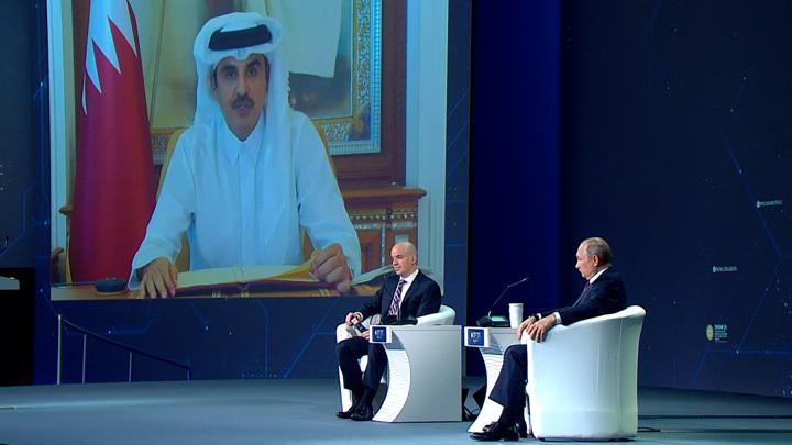 Эмир Катара высоко оценил экономическое сотрудничество с РФ