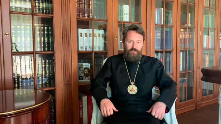 55лет митрополиту Илариону