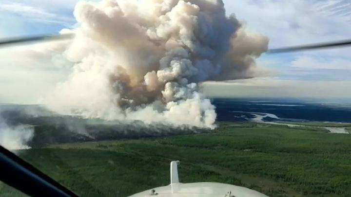 Якутские шаманы начали вызывать способные потушить лесные пожары дожди