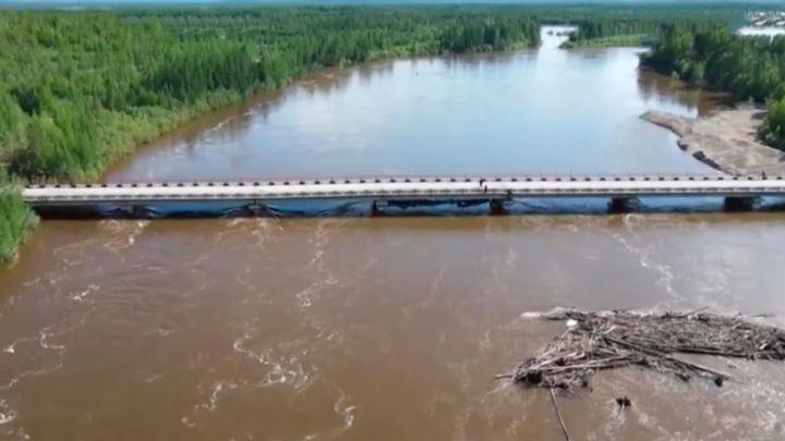 В реках Забайкалья пошел на спад уровень воды