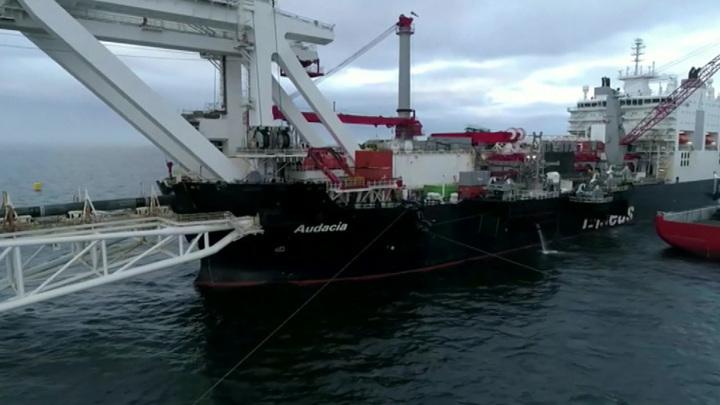 """Строительство первой нитки газопровода """"Северный поток – 2"""" технически завершено"""