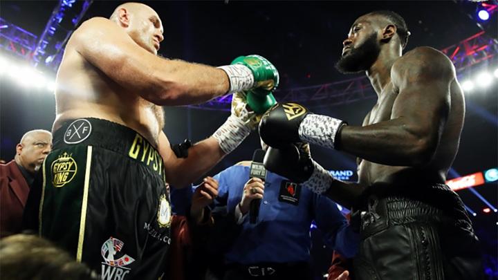 Бокс. Фьюри и Уайлдер проведут бой в Лас-Вегасе