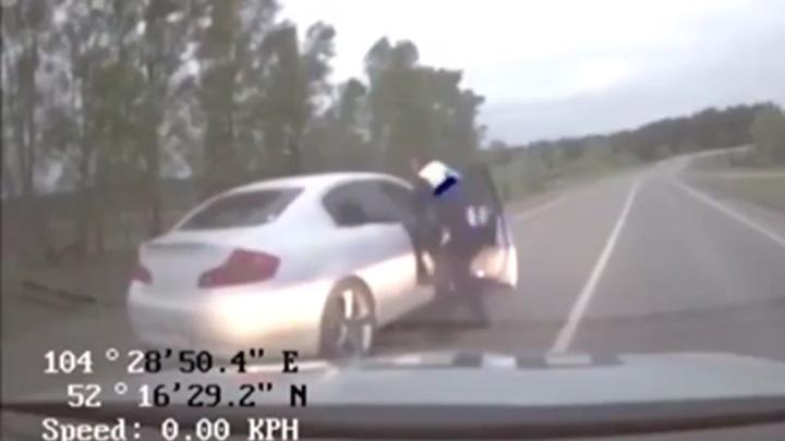 Не фартануло: пьяный водитель устроил в Иркутске гонки с полицией