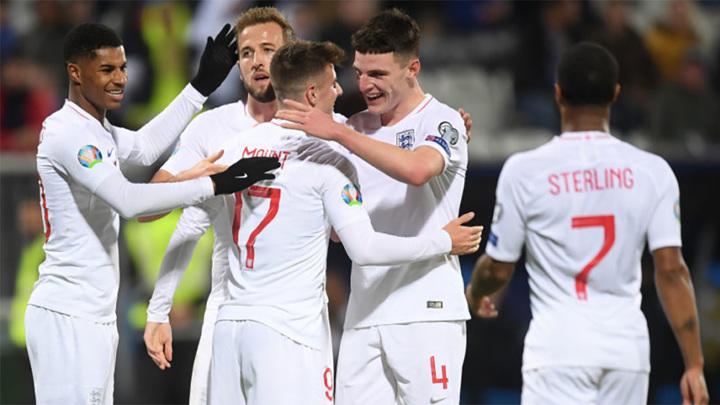 Стали известны составы Англии и Чехии на матч Евро-2020
