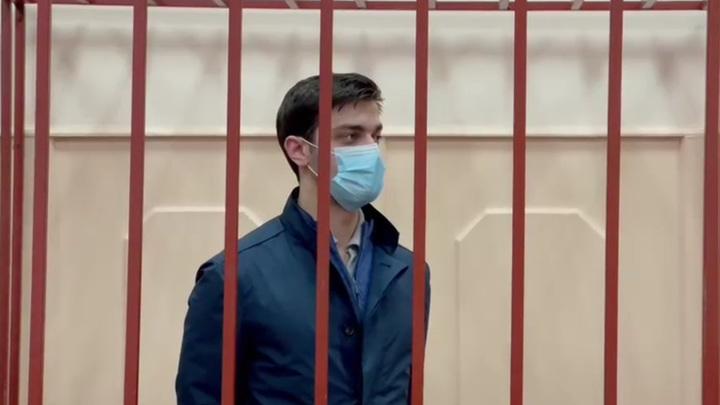 Александр Воронин во время вынесения приговора