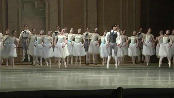 Выпускной спектакль Академии Русского балета прошел на сцене Мариинского театра