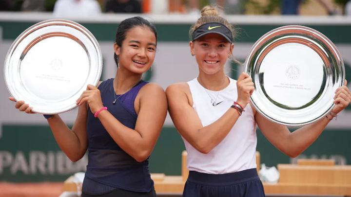 Юниорка Селехметьева – чемпионка Roland Garros в паре