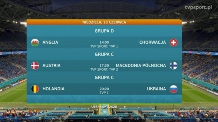 Польский телеканал поставил сборной Украины флаг России