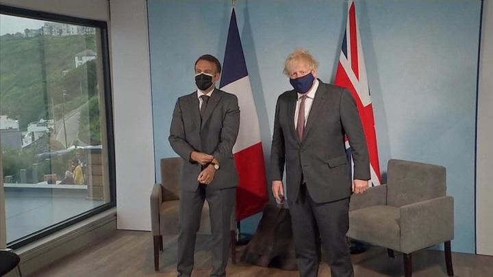 """На G7 """"колбасная война"""" Джонсона с Макроном затмила прокол Байденов"""