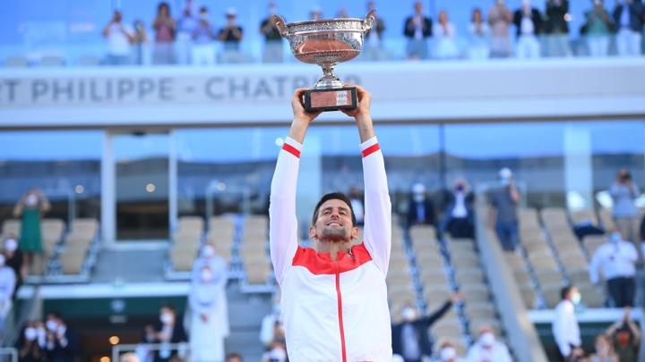 Джокович: я горд, что выиграл один из величайших трофеев в теннисе