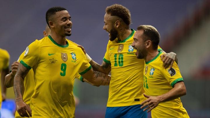 Бразилия стартовала на Кубке Америки с разгрома Венесуэлы