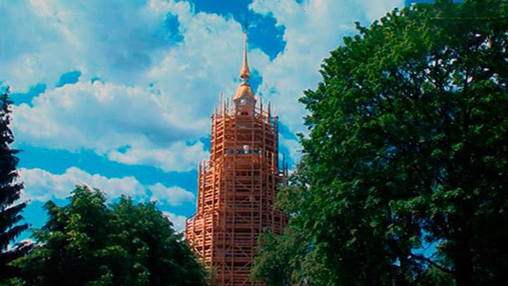 В Петербурге начали реставрировать колокольню Николо-Богоявленского морского собора