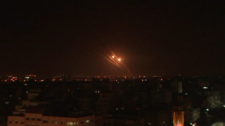 Израиль снова нанес авиаудары по сектору Газа