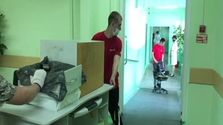 Красноярскую горбольницу переоборудуют под ковид-госпиталь
