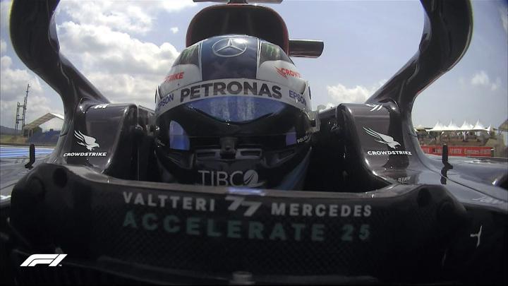 Боттас выиграл первую практику на Гран-при Франции, Мазепин – 18-й