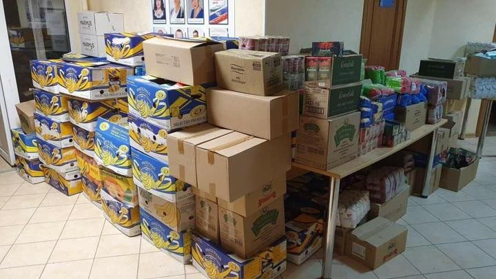 Более двух тонн гуманитарной помощи доставили в Керчь